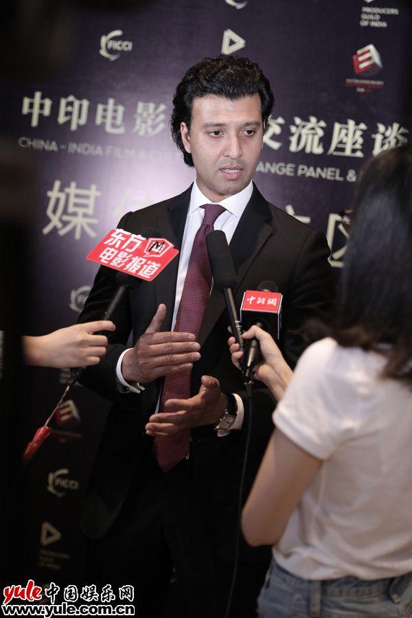中印电影文化交流活动举办宣传将合作开发新项目